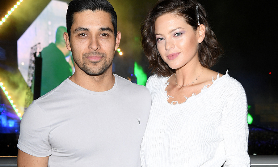 <h2>Wilmer Valderrama and Amanda Pacheco - Jan. 1</h2>