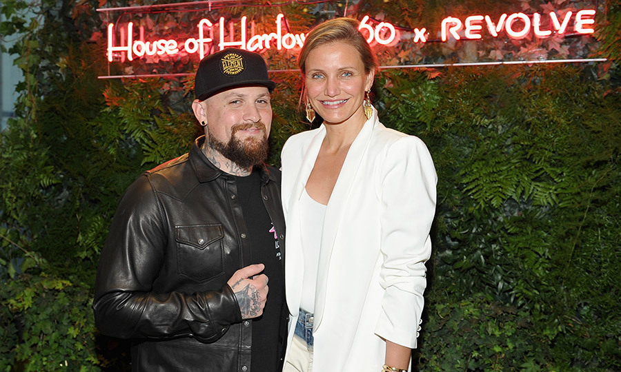 <h2>Cameron Diaz and Benji Madden</h2>