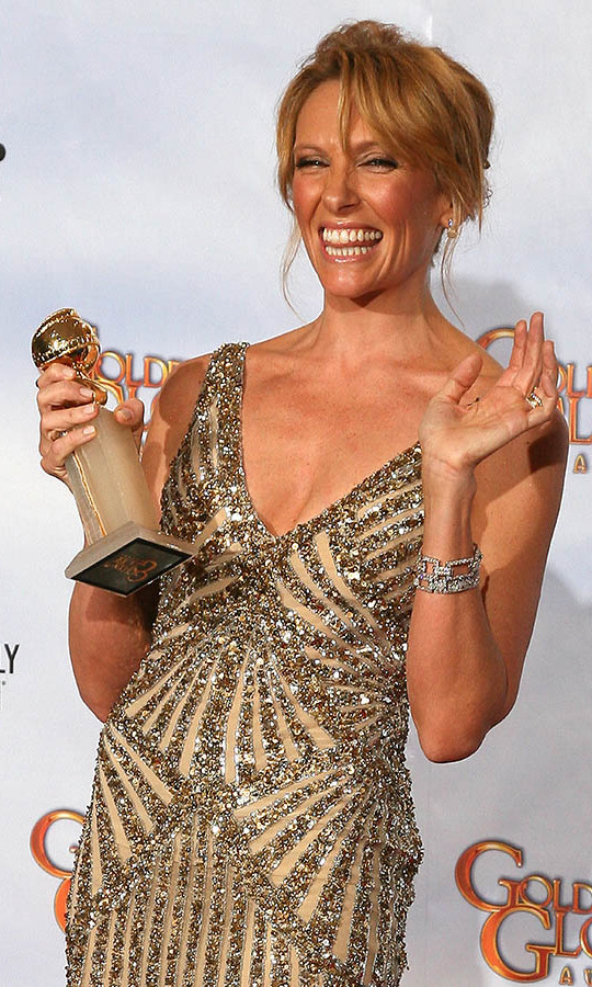 "<h2>Best Performance by an Actress in a Television Series - Musical or Comedy: Toni Colette</h2><p><strong><a href=""https://ca.hellomagazine.com/tags/0/toni-collette/"" target=""_blank"">Toni Colette</a></strong> was all smiles after accepting her Best Performance by an Actress in a Television Series - Musical or Comedy award for <em><strong>United States of Tara</strong></em>.</p><p>Photo: © VALERIE MACON/AFP via Getty Images"