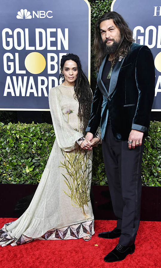 <a href=/tags/0/lisa-bonet><strong>Lisa Bonet</strong></a> and <a href=/tags/0/jason-momoa><strong>Jason Momoa</strong></a> were one stylish duo on the red carpet!<p>Photo: &copy: Frazer Harrison/Getty Images