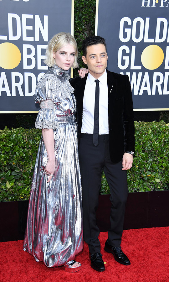 <a href=/tags/0/lucy-boynton><strong>Lucy Boynton</a></strong> was keen to support her <i>Bohemian Rhapsody</i> co-star <strong><a href=/tags/0/rami-malek>Rami Malek</a></strong>, who was nominated for his work on <i>Mr. Robot</i> for the third time.