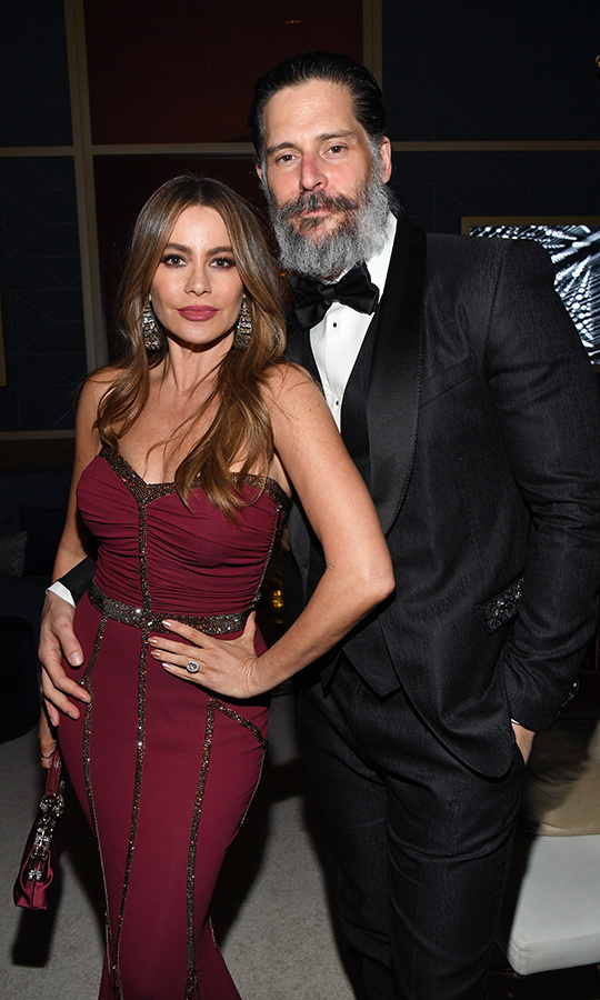 <a href=/tags/0/sofia-vergara><strong>Sofia Vergara</a></strong> and <Strong><a href=/tags/0/joe-manganiello>Joe Manganiello</a></strong> looked as loved-up as ever at the same event.