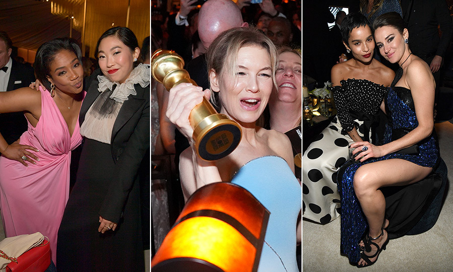 The night doesn't stop when the show does! When the 2020 <strong><a href=/tags/0/golden-globe-awards>Golden Globe Awards</a></strong> finished, the evening was just beginning! Let's not forget that it was only 8 pm in Hollywood, the night was very young, and there were plenty of after-parties for winners, nominees and presenters to hit!