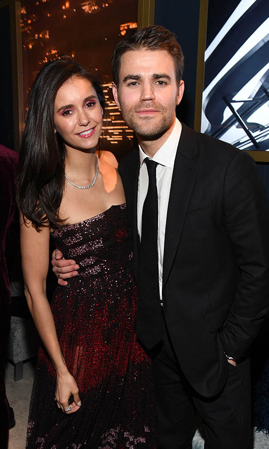 Former <em>Vampire Diaries</em> co-stars <a href=/tags/0/nina-dobrev><strong>Nina Dobrev</strong></a> and <strong>Paul Wesley</strong> thrilled fans when they both stopped by the 2020 InStyle and Warner Bros. 77th Annual Golden Globe Awards post-party. <p> Photo: © by Kevin Mazur/Getty Images for InStyle