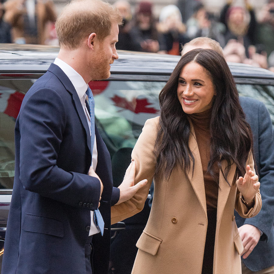 Welcome back to work, <strong><a href=/tags/0/prince-harry>Prince Harry</a></strong> and <strong><a href=/tags/0/meghan-markle>Duchess Meghan</a></strong>! 