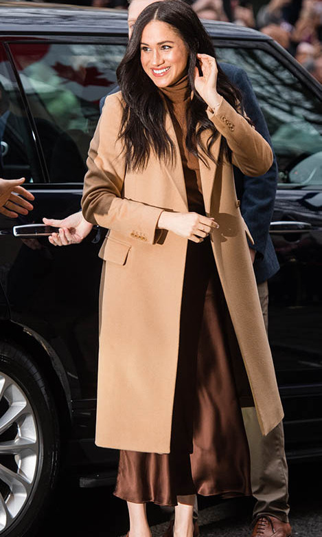 <a href=/tags/0/meghan-markle><strong>Duchess Meghan</strong></a> returned to work after spending time in British Columbia with <strong><a href=/tags/0/prince-harry>Prince Harry</a></strong> for the Christmas holidays. 