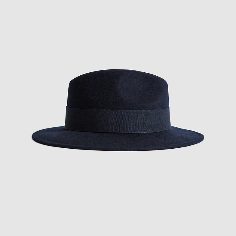 "Finish an ensemble off with a statement with this elegant Edie Felt Fedora by <a href=""https://ca.hellomagazine.com/tags/0/reiss"" target=""_blank""><strong>Reiss</strong></a>. The brand is often worn by Kate! The navy-on-navy colour combination is timeless. The hat is made from pure wool and detailed with grosgrain ribbon.</p><p>Edie Felt Fedora, $125, <a href=""https://www.reiss.com/ca/p/felt-fedora-womens-edie-in-navy-blue/?q=fedora&gaEeList=search%20results"">Reiss</a></p><p>Screenshot via reiss.com"