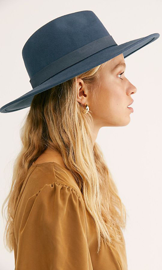 "This fetching Beaumont Suede Band Felt Hat is comprised out of classic wool felt and trimmed in a coordinating suede band. The wide brim will shield eyes while making a statement!</p><p>Beaumont Suede Band Felt Hat, $75.98, <a href=""https://www.freepeople.com/shop/beaumont-suede-band-felt/?category=SEARCHRESULTS&color=042"" target=""_blank"">Free People</a></p><p>Screenshot via freepeople.com"