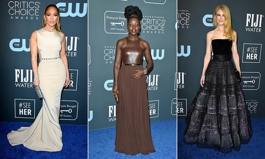 <strong>By Zach Harper and Heather Cichowski</strong><p> Awards season continued on Jan. 12 with the <a href=/tags/0/critics-choice-awards><strong>2020 Critics' Choice Awards</strong></a> and plenty of gorgeous looks on its red carpet!