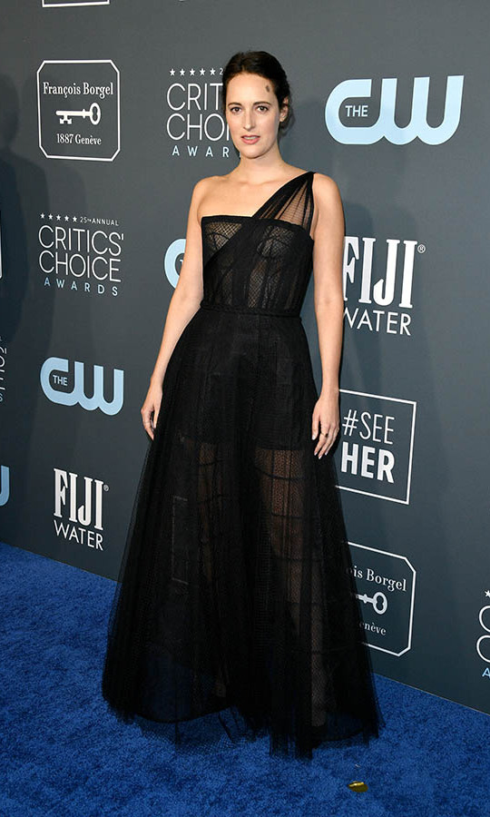 <a href=/tags/0/phoebe-waller-bridge><strong>Phoebe Waller-Bridge</strong></a> looked alluring in a tulle 