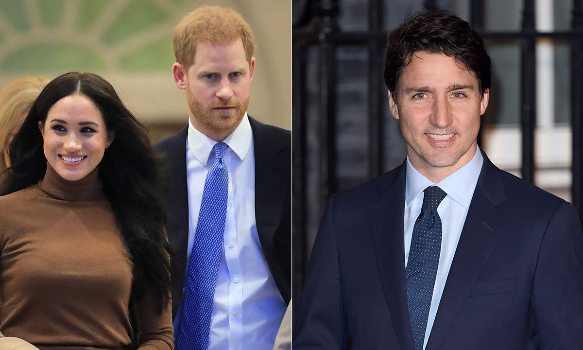 Justin Trudeau speaks out on Duchess Meghan and Prince