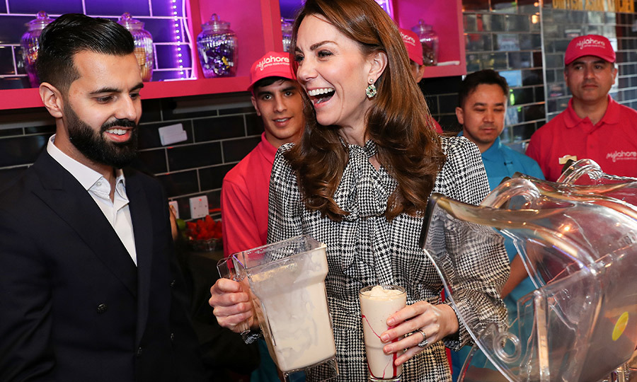 Kate had great fun doing it!