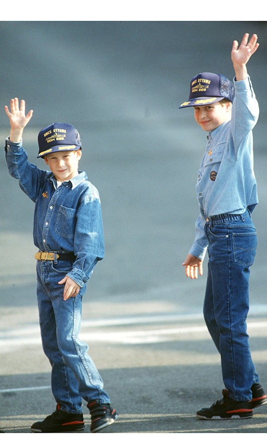 <h2>Harry and William in Toronto, 1991</h2>