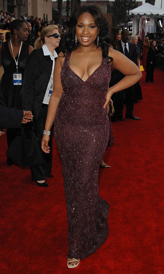 <h2>Jennifer Hudson, 2007</h2><p> The singer-actress lit up the 13th Annual Screen Actors Guild Awards with her halterneck gown. <p>Photo: © Dimitrios Kambouris/WireImage