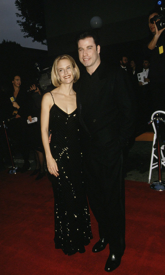 <h2>John Travolta and Kelly Preston, 1995</h2><p>