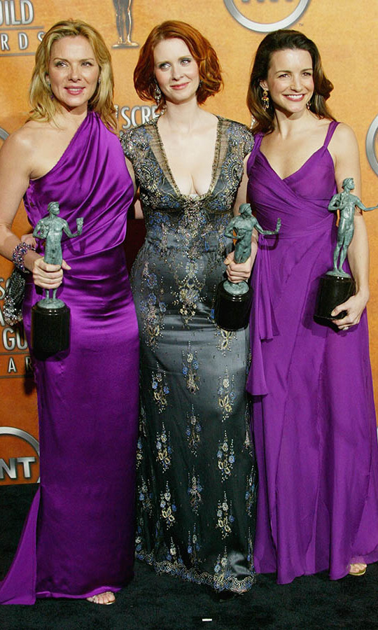 "<h2>Kim Catrall, Cynthia Nixon and Kristin Davis, 2004</h2><p> The <em>Sex and the City</em> cast (minus <a href=""https://ca.hellomagazine.com/tags/0/sarah-jessica-parker""><strong>Sarah Jessica Parker</strong></a>) showed that their style in real life was as influential as it was on the show.<p> Photo: © Frederick M. Brown/Getty Images"