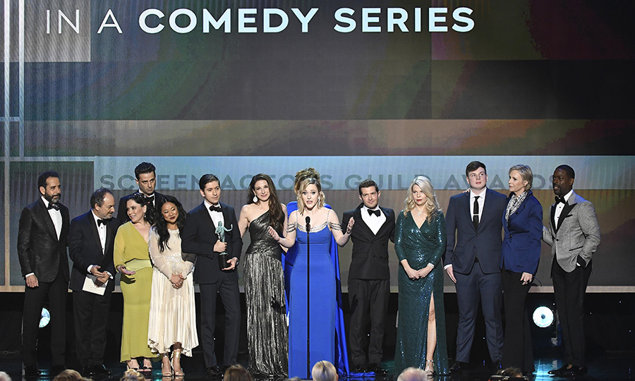 <h2>Outstanding Ensemble Cast in a Comedy Series</h2>