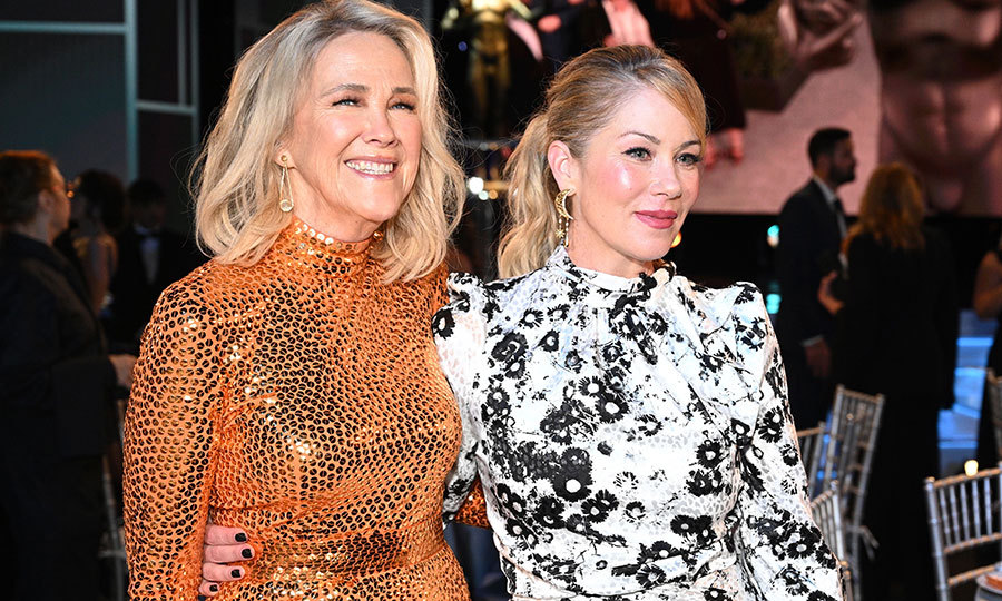 They made it through the holidays again! In 2004, <Strong><a href=/tags/0/catherine-ohara>Catherine O'Hara</a></strong> and <strong><a href=/tags/0/christina-applegate>Christina Applegate</a></strong> starred in <i>Surviving Christmas</i>, and they said hi during the show!