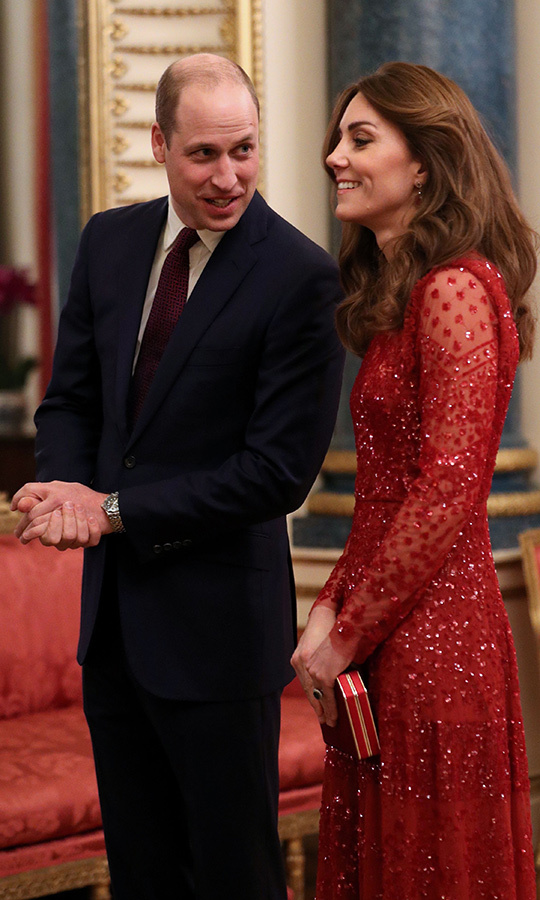 William and Kate shared a laugh in a sweet private moment.