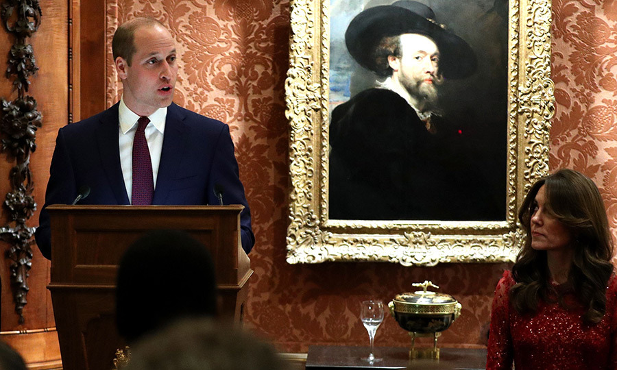 William a speech at the event in which he spoke about the important relationship between the UK and Africa. 