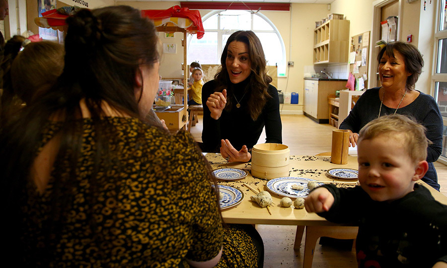 The Duchess of Cambridge holds a special place in her heart for Wales, and told other parents just that.