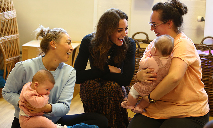 Kate was very interested in hearing from other parents about how the centre helps them and their children.