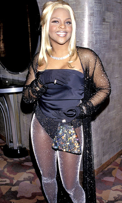 <h2>Lil' Kim, 1998</h2><p> The rapper wore sexy and shimmering layers to the 40th GRAMMYs!<p>Photo: &copy; Kevin Mazur Archive 1/WireImage