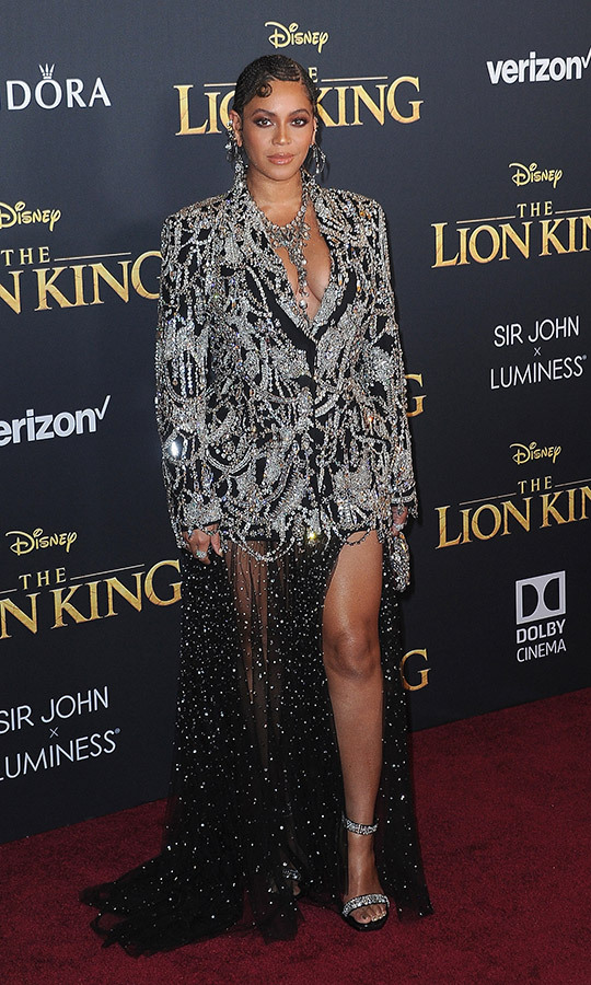 <strong><a href=/tags/0/beyonce>Beyoncé</a></strong> (pictured at the European premiere of <i>The Lion King</i> in July) picked up the Best Music Film award for her <I>Homecoming</I>.