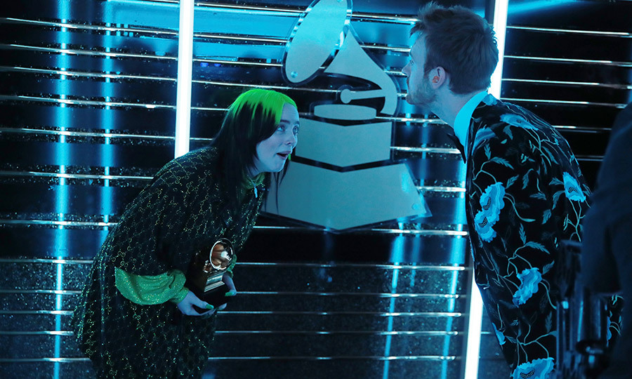 Billie and Finneas FREAKED OUT backstage over the five awards they won! Billie is the first artist to win all four of the major GRAMMY categories since <strong>Christopher Cross</strong> in 1981!