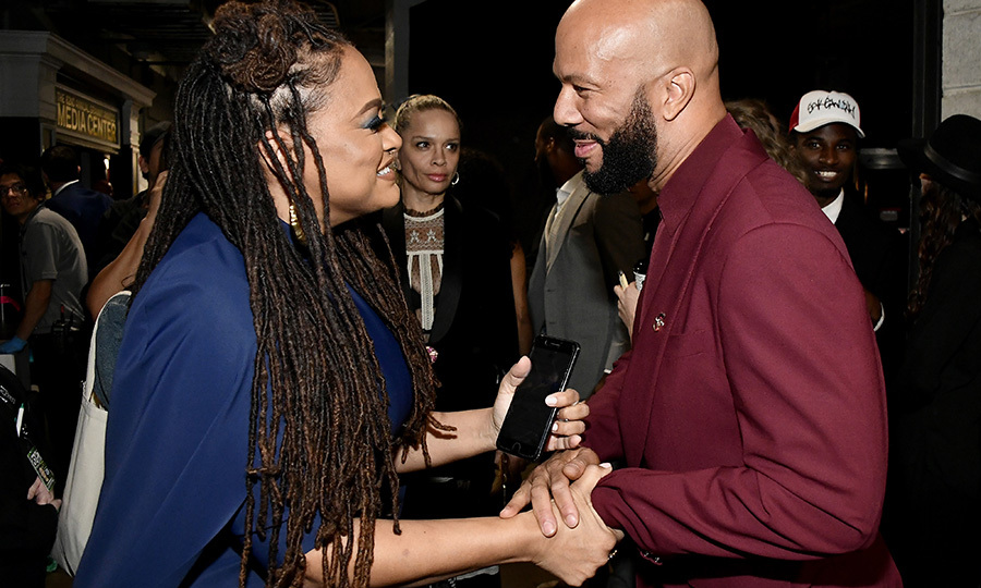 "<i>When They See Us</i> creator <strong><a href=/tags/0/ava-duvernay>Ava DuVernay</a></strong> caught up with <strong><a href=/tags/0/common>Common</a></strong> backstage. Common wrote ""Letter to the Free"" for Ava's documentary <i>The 13th</i> and also starred in her Oscar-winning film <i>Selma</i>.