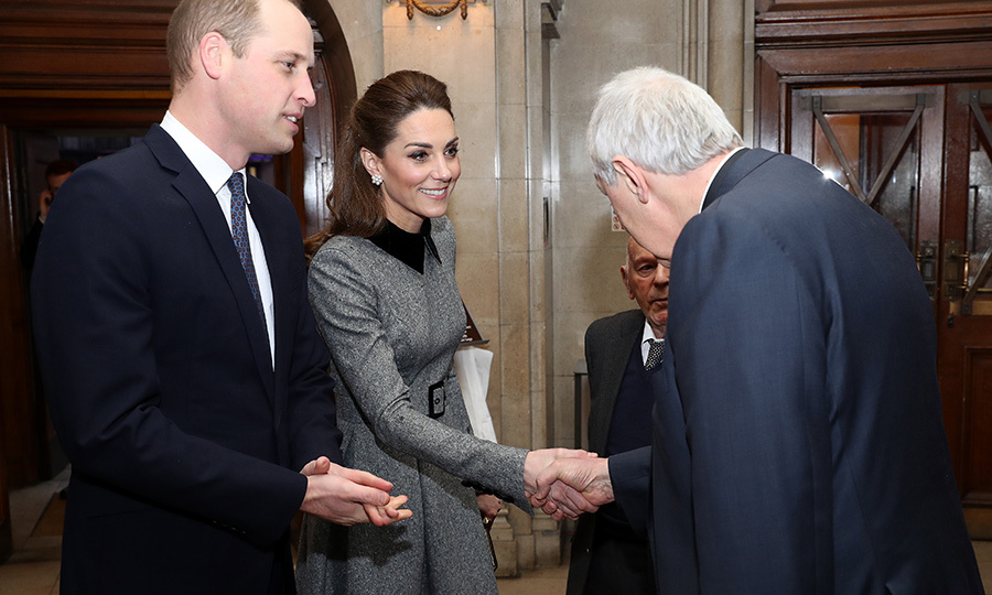 <a href=/tags/0/prince-william><strong>Prince William</a></strong> and <strong><a href=/tags/0/kate-middleton>Duchess Kate</a></strong> stepped out to a moving service to mark the 75th anniversary of the liberation of Auschwitz-Birkenau on Jan. 27, held in connection with Holocaust Memorial Day.