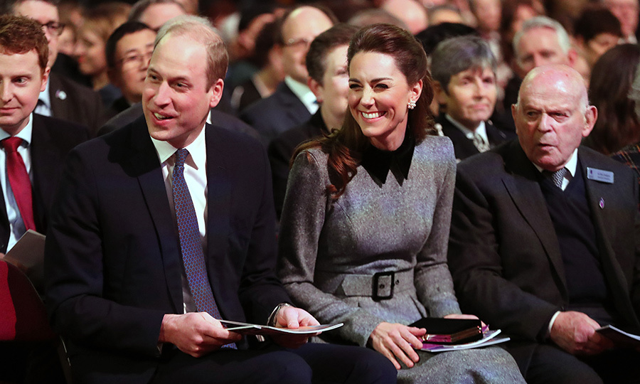 William and Kate shared several sweet moments with the crowd, which included many survivors.