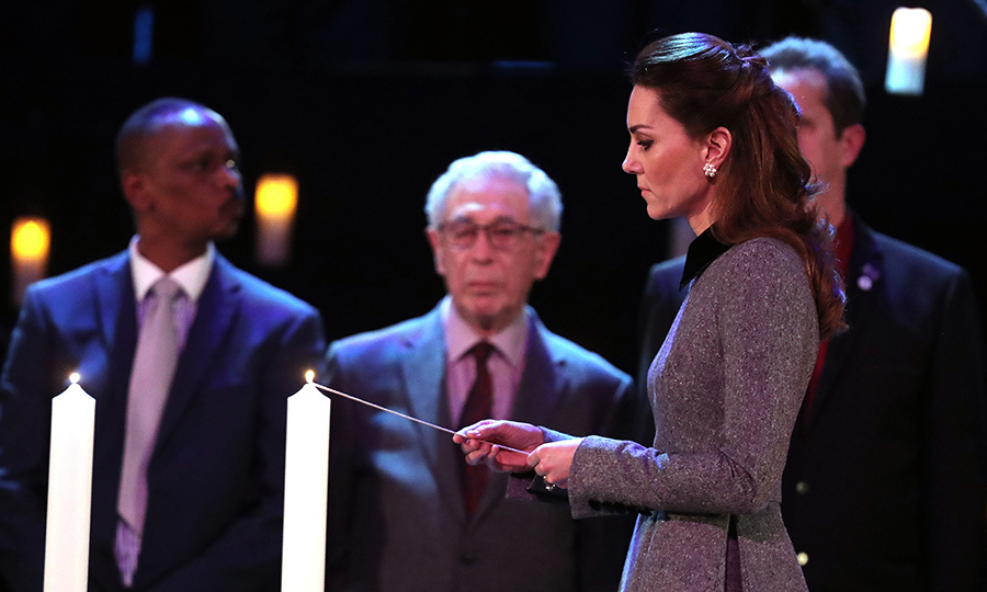 The duchess did, too.