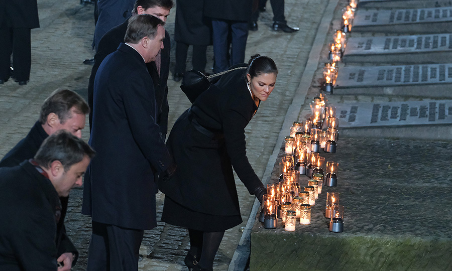 Crown Princess Victoria was, too.