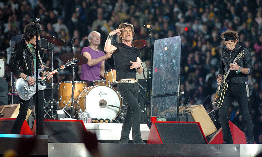 <strong><a href=/tags/0/the-rolling-stones>The Rolling Stones</a></strong> brought some classic rock to the stage in 2006.