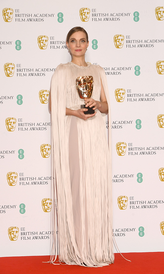 <strong>Hildur Gudnadóttir</strong> continued to dominate awards season with her score for <i>Joker</i>, taking home yet another award. She won Outstanding Original Score.