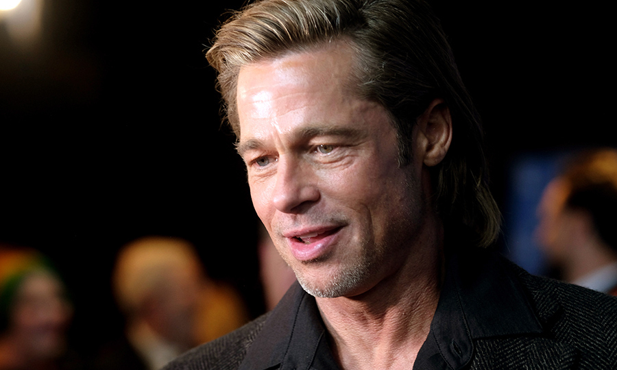 <strong><a href=/tags/0/brad-pitt>Brad Pitt</a></strong> picked up yet another award for his role in <i>Once Upon a Time... in Hollywood</i>. He wasn't able to attend the ceremony, but his co-star <Strong><a href=/tags/0/margot-robbie>Margot Robbie</a></strong> accepted it on his behalf. 