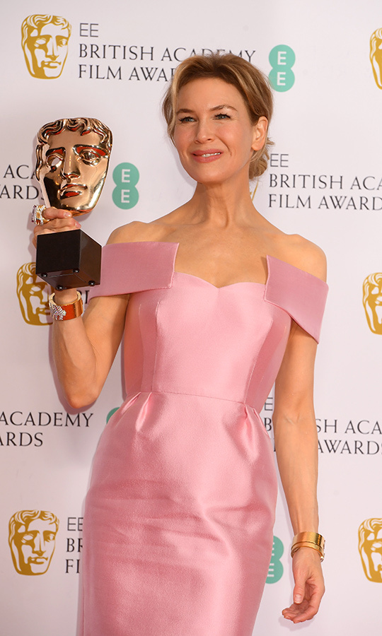 <a href=/tags/0/renee-zellweger><strong>Renee Zellweger</a></strong> won another award for her performance in <i>Judy</i>, winning Best Actress. 