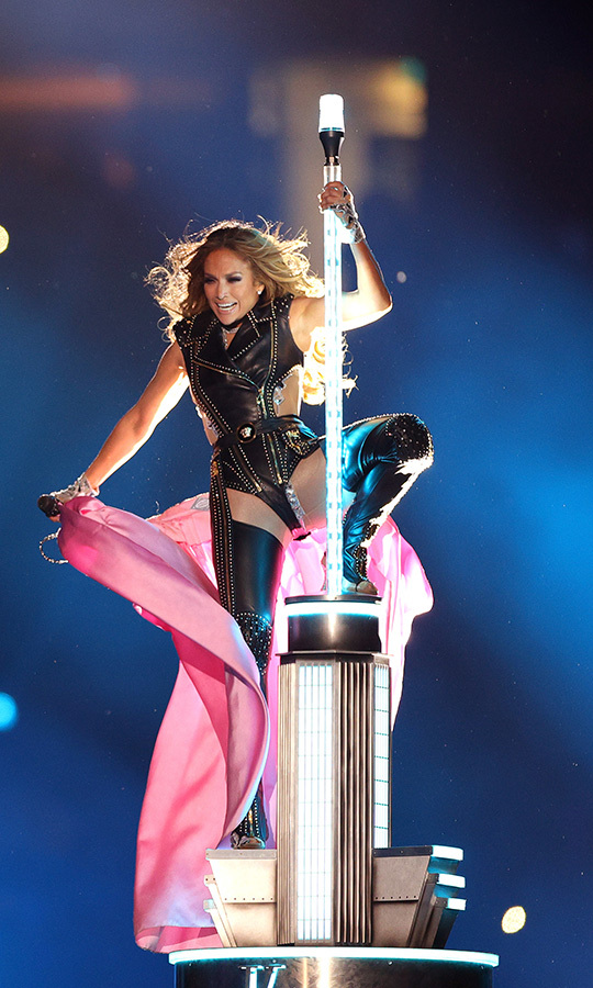 J.Lo made a triumphant entrance!