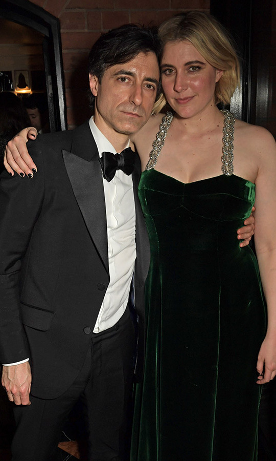 No competition here! Partners Noah Baumbach and <em>Little Women</em> director <a href=/tags/0/greta-gerwig><strong>Greta Gerwig</a></strong> celebrated both of their films' recognitions at the Netflix BAFTA after-party. <p>Photo: &copy; David M. Benett/Dave Benett/Getty Images for Netflix