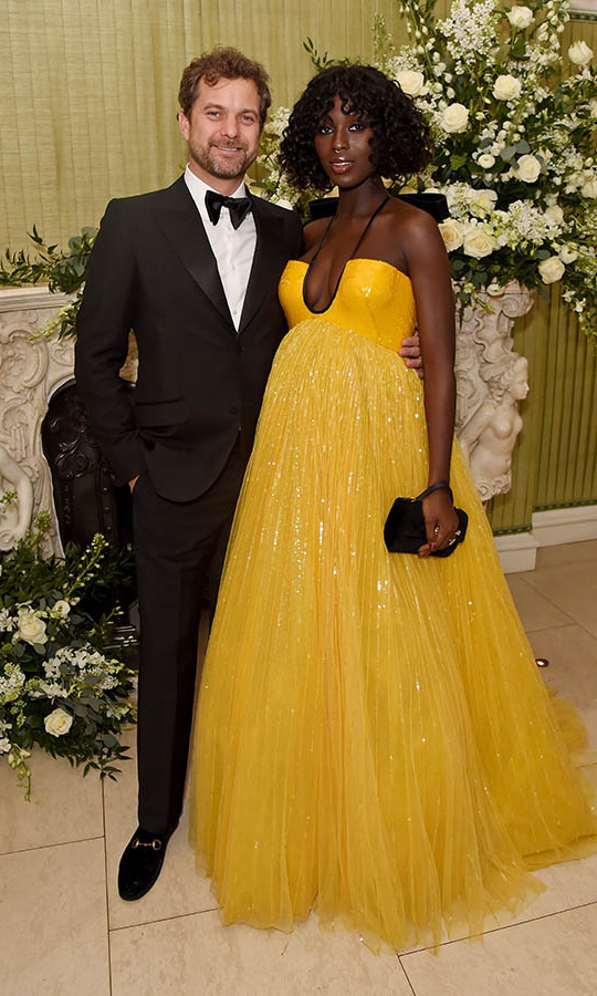 At the <em>British Vogue</em> and Tiffany & Co. Fashion and Film Party, <a href=/tags/0/joshua-jackson><strong>Joshua Jackson</strong></a> and an expectant <strong>Jodie Turner-Smith</strong> were full of smiles. <p>Photo: &copy; David M. Benett/Dave Benett/Getty Images