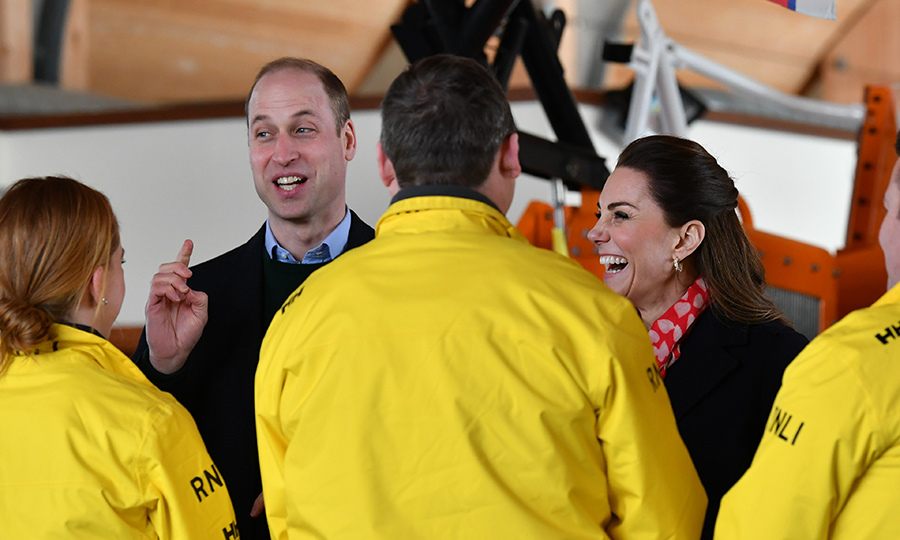 William also got in some good laughs with the crew! 