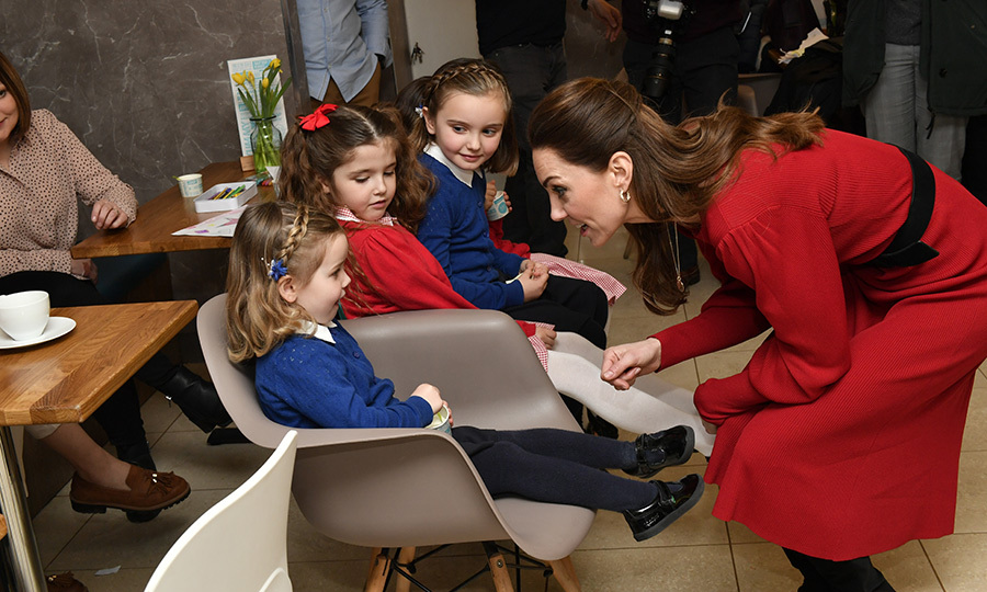 "Kate, who launched her ""5 questions on the under 5's"" survey for her Early Years work last week, spent some time with some youngsters while there!