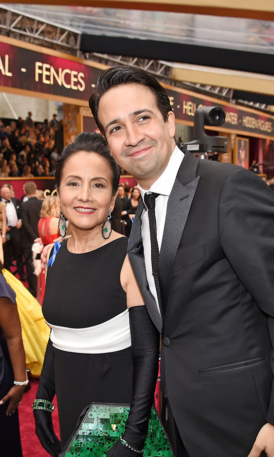 <strong><a href=/tags/0/lin-manuel-miranda>Lin-Manuel Miranda</a></strong> was so cute with his mom, <strong>Luz Townes-Miranda</strong>, in 2017.