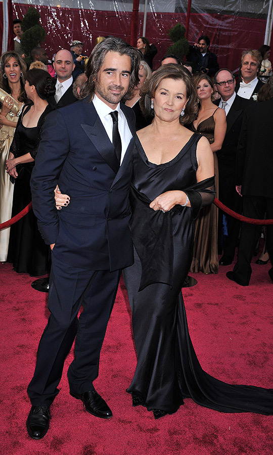 Not such a bad boy after all! <strong><a href=/tags/0/colin-farrell>Colin Farrell</a></strong> brought his mom, <strong>Rita</strong>, in 2008. 