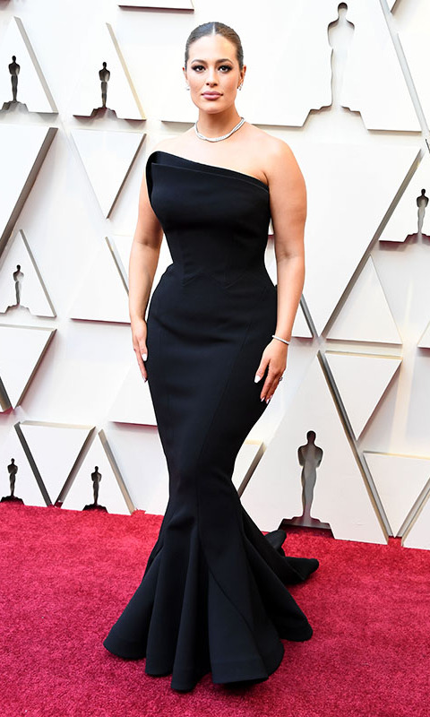 <h2>2019</h2><p>Supermodel <a href=/tags/0/ashley-graham><strong>Ashley Graham</strong></a> slayed at the 2019 Oscars in a black <a href=/tags/0/zac-posen><strong>Zac Posen</strong></a> gown that was cut to highlight her every curve. <p>Photo: &copy; Steve Granitz/WireImage
