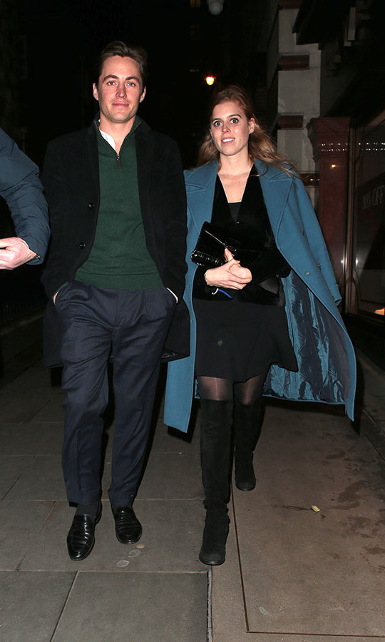 <h2>November 2019</h2><p>Let the festive season begin! Edoardo and Princess Beatrice of York visited the Fayre of St. James's Christmas Carol Concert held at St. James's Church on Nov. 26, 2019 in London. <p>Photo: &copy; Ricky Vigil M/GC Images