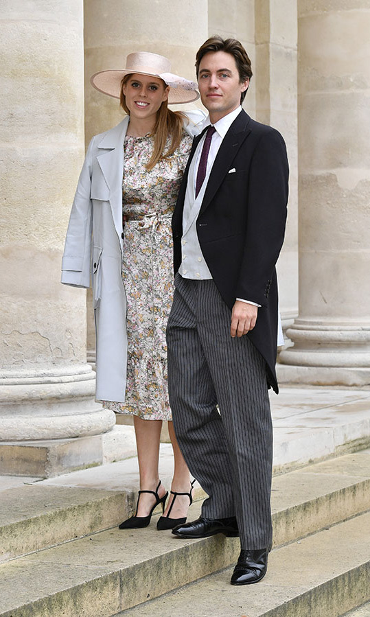 "<h2>October 2019</h2><p>Beatrice and fiancé Edoardo travelled to France to attend <a href=""https://ca.hellomagazine.com/royalty/02019102153447/royal-guests-prince-jean-christophe-napoleon-bonaparte-countess-olympia-von-arco-zinneberg-wedding/1""><strong>the wedding</strong></a> of <strong>Prince Jean-Christophe Napoleon</strong> and <strong>Olympia Von Arco-Zinneberg</strong> at Les Invalides on Oct. 19, 2019 in Paris.<p>Photo: &copy; Luc Castel/Getty Images"