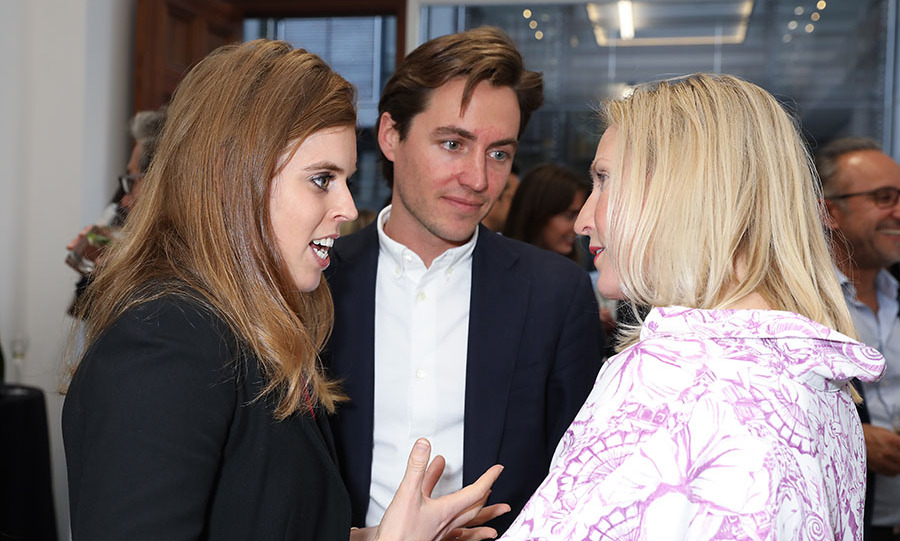 <h2>May 2019</h2><p>Beatrice and Edoardo spoke with guests, including CEO of Elephant Family <strong>Ruth Ganesh</strong>, at the Animal Ball Art Show private viewing, presented by Elephant Family on May 22 in London. <p>Photo: &copy; David M. Benett/Dave Benett/Getty Images for Animal Ball