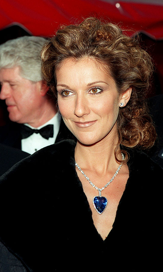 "It was only fitting that <a href=/tags/0/celine-dion><strong>Céline Dion</strong></a> wore a ""Coeur de la Mer"" necklace to the 1998 Oscars in homepage to <em>Titanic</em>. Her sparkling <strong>Asprey</strong> 171-karat Ceylon blue sapphire heart replica was in fact a recreation of Rose's ""Heart of the Ocean"" pendant from the iconic film! <p>Photo: &copy; Frank Trapper/Corbis via Getty Images"